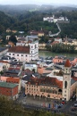 Passau Altstadt from the Veste Oberhaus