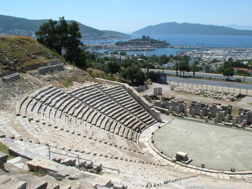 The Halicarnassus Theatre Jigsaw Puzzle In Great Sightings