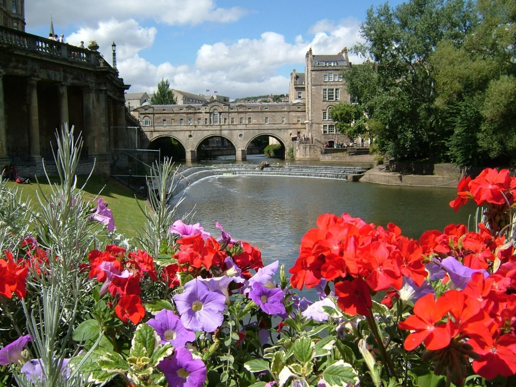 City of Bath, England jigsaw puzzle in Bridges puzzles on ...