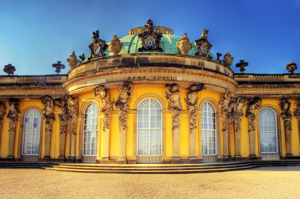 potsdam sanssouci palace jigsaw puzzle in castles puzzles on. Black Bedroom Furniture Sets. Home Design Ideas