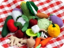 Felt Cornucopia of Vegetables