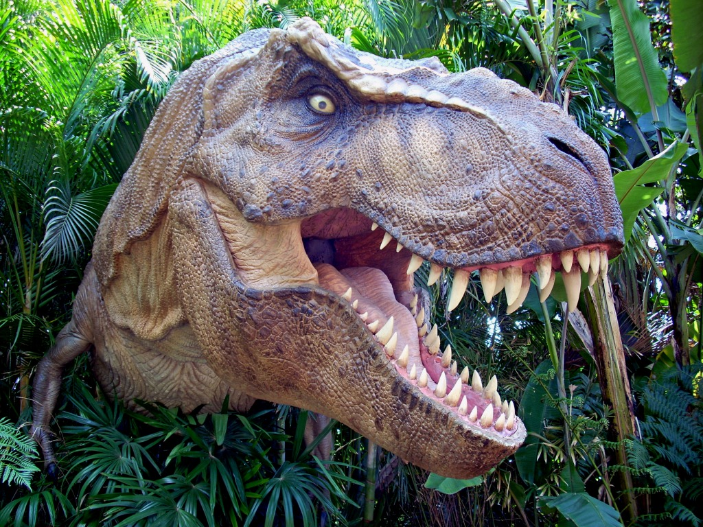 T rex dinosaur jigsaw puzzle in animals puzzles on for Tyranosaurus rex