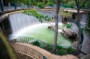 Waterfall in the Hotel