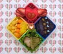 Winged Heart Bento