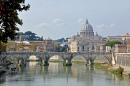 Crossing the Tiber