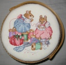 Mice Sewing Basket