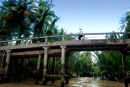 Old Bridge at the Mekong Delta