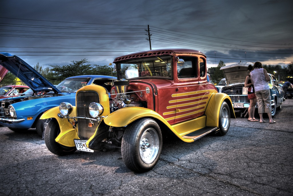 Hot Rod jigsaw puzzle in Cars & Bikes puzzles on TheJigsawPuzzles.com