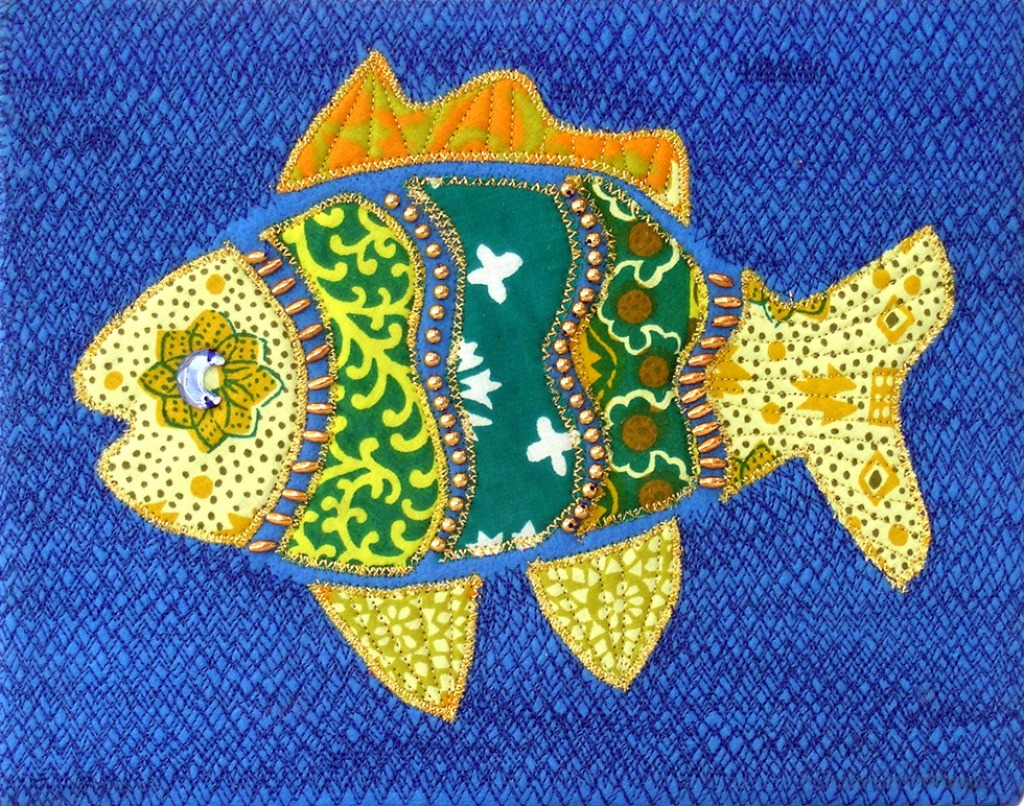 Fiber fish jigsaw puzzle in handmade puzzles on for Fiber in fish