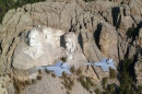 F/A-18 by Mount Rushmore