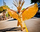 Winged Golden Latin Performer