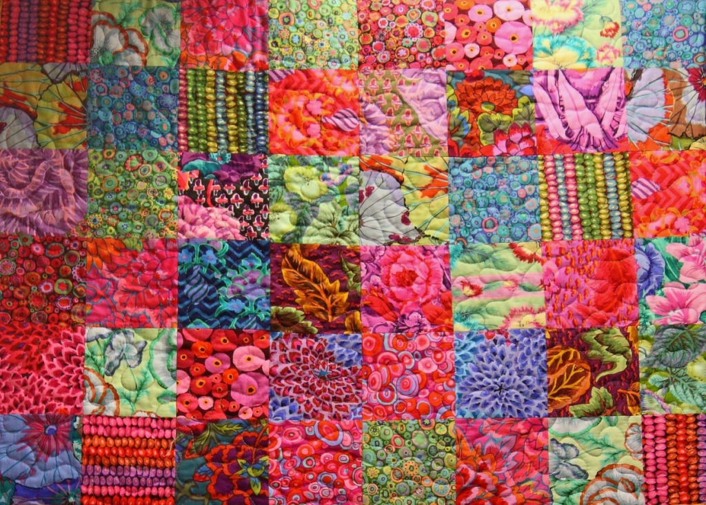 Beautiful Kaffe Jigsaw Puzzle In Handmade Puzzles On
