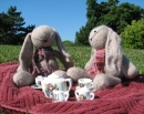 Bunnies' Tea Party
