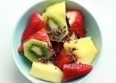 Fruit Salad with Cacao Nibs