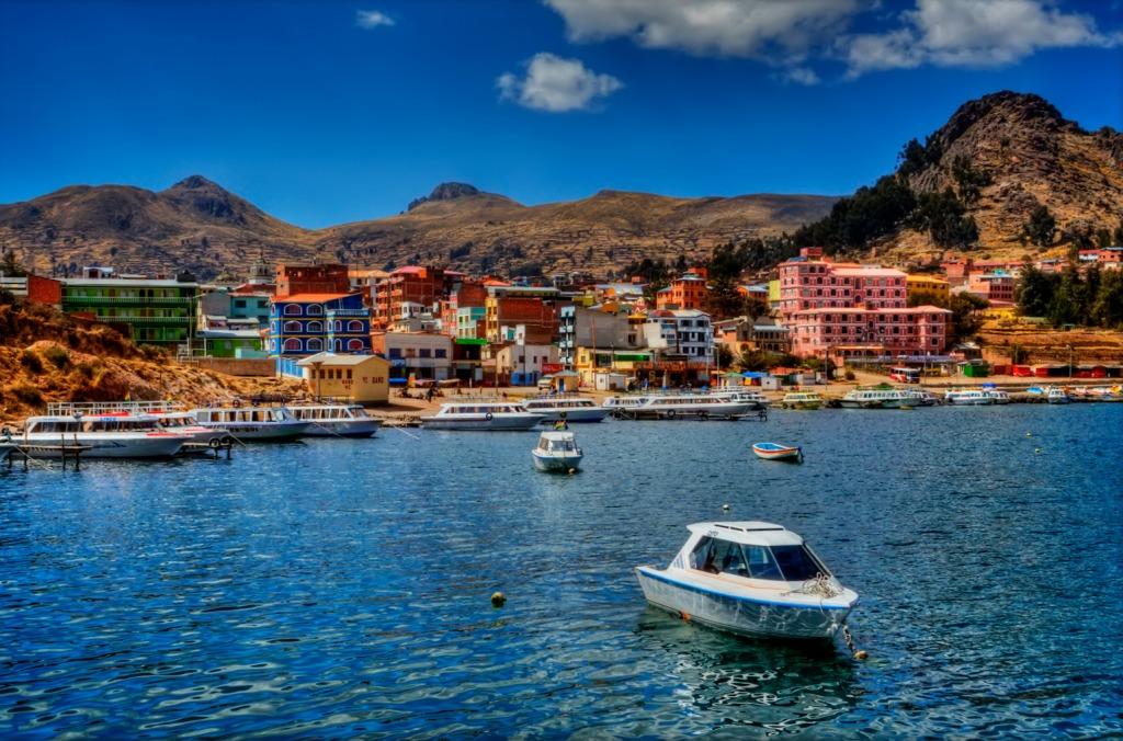Copacabana Lake Titicaca Jigsaw Puzzle In Great Sightings