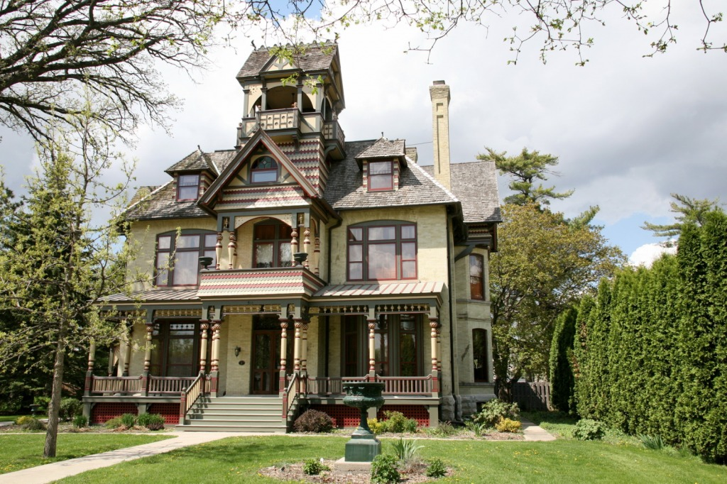 A H Allyn Mansion Jigsaw Puzzle In Puzzle Of The Day