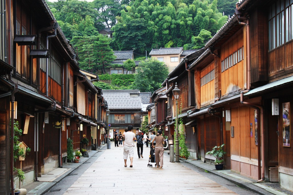 Kanazawa Japan  City new picture : Kanazawa, Japan jigsaw puzzle in Street View puzzles on ...