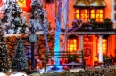 Dickens Village by Mary Ellen Page