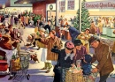 December Day at the Supermarket