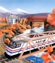 Amtrak Postcard