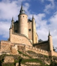 View of the Alcazar, Segovia, Spain