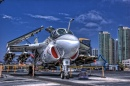 A-6 Intruder on the USS Midway