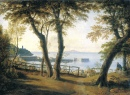 Italian Seaside Landscape