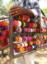 Bangle-seller in India