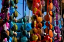 Beads on the Saint-Tropez Market