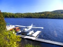Seaplane Parked on the Gatineau River
