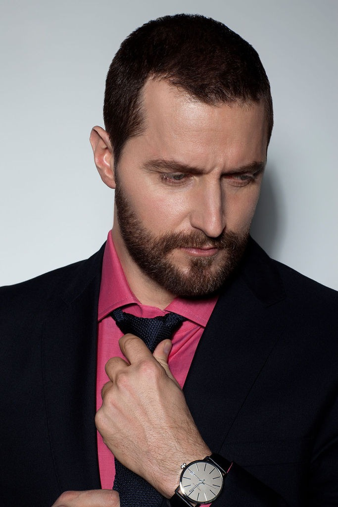 Fine Richard Armitage With His Beard Amp Short Hair Jigsaw Puzzle In Kim Short Hairstyles Gunalazisus