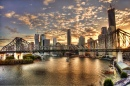 Story Bridge Sunset, Brisbane