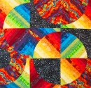 """Galaxies Within"" Quilt"