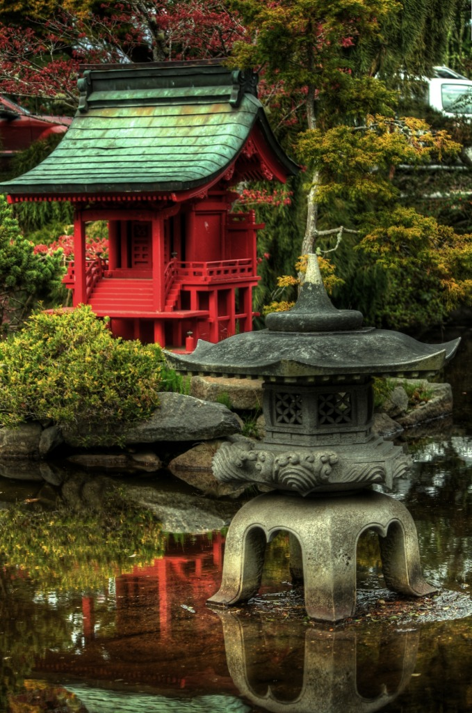 Japanese Garden Point Defiance Park Tacoma