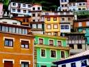 Houses of Cudillero, Spain
