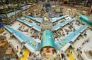 Boeing 747-8 in Assembly