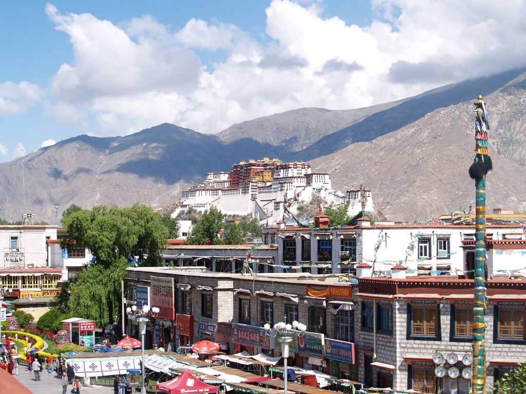 The Potala Palace  Lhasa  Tibet Jigsaw Puzzle In Street View Puzzles On Thejigsawpuzzles Com