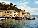 Small Fishing Port of Portofino, Italy