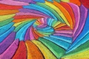 Colorful Chalk Painting