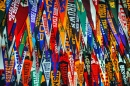 Scores of College Pennants