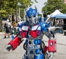Transformer at the Mermaid Parade