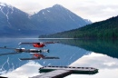 Float Plane at Moose Pass in Alaska