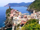 View of Vernazza, Italy