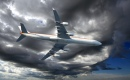 Airbus A340-642 Cruising the Sky