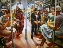 Subway, 1934, by Lily Furedi