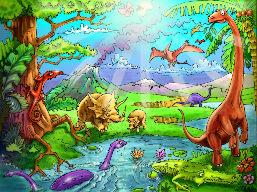 Dinosaurs Jigsaw Puzzle In Kids Puzzles Puzzles On