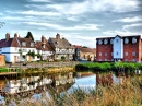 Summer in Tewkesbury, England