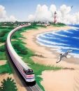Amtrak 40th Anniversary Postcard