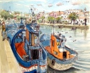 Fishing Boats in Tavira