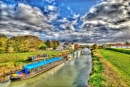 River Hull at Tickton, England